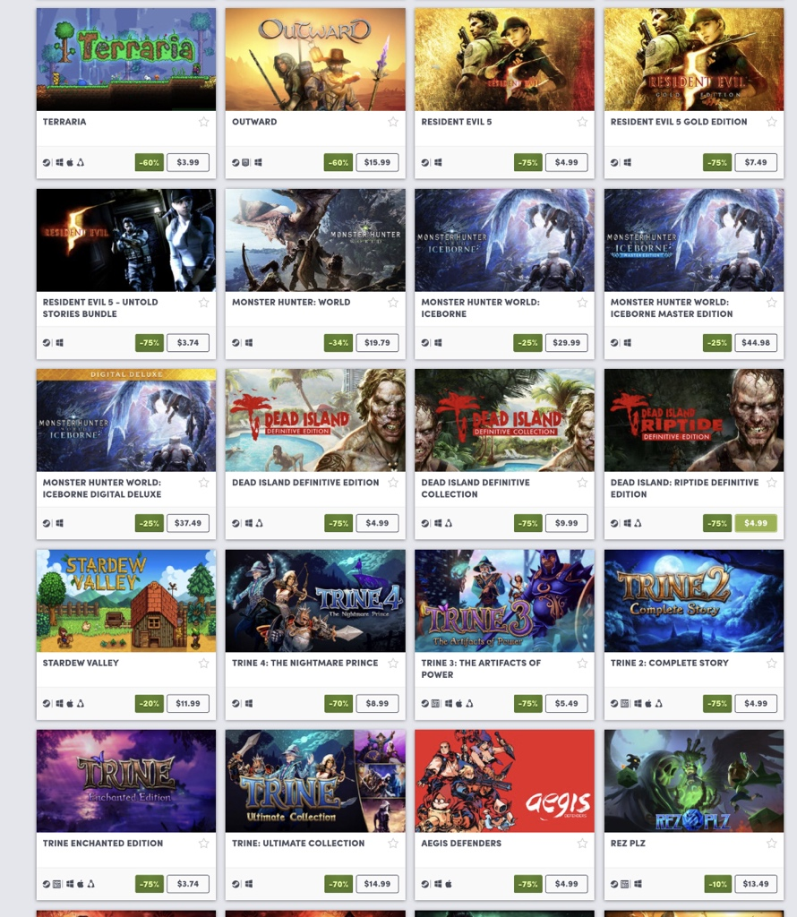 Better Together game sale on Humble 2