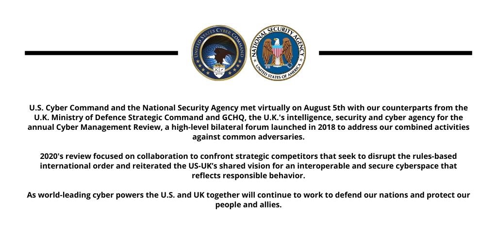 NSA/CSS (@NSAGov) on Twitter photo 2020-08-06 17:17:26