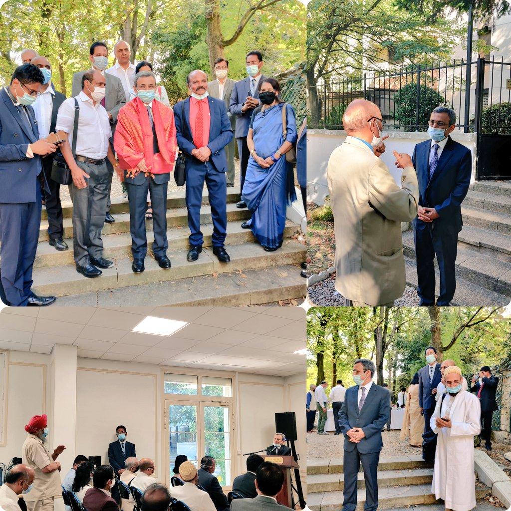 Indian Ambassador @JawedAshraf5 had engaging interaction with the vibrant and dynamic Indian community. @MEAIndia @IndianDiplomacy