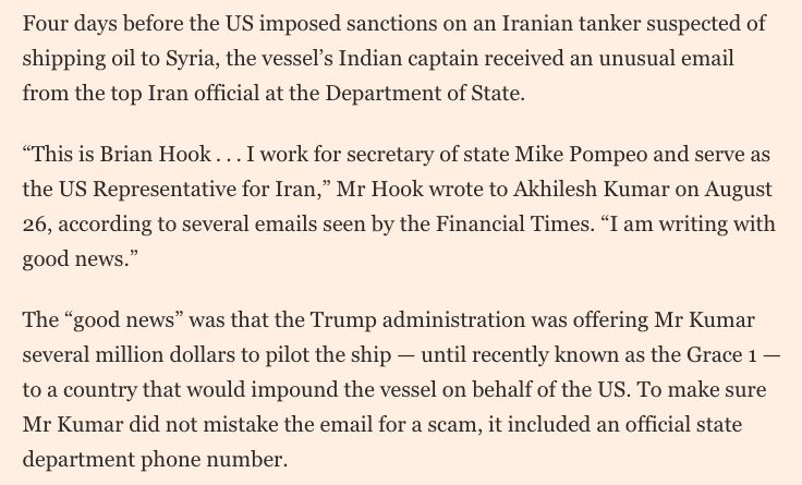 Brian Hook's resignation is as good a moment as any to remember this Hall of Fame-worthy scoop from @Dimi last year  https://t.co/ZnTIjBGZld https://t.co/4p5Xb3FTCl