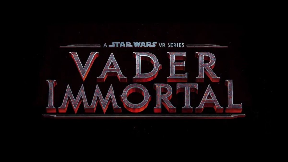 Fate has chosen you. All three episodes of #VaderImmortal: A Star Wars VR Series are coming to @PlayStation VR on August 25.