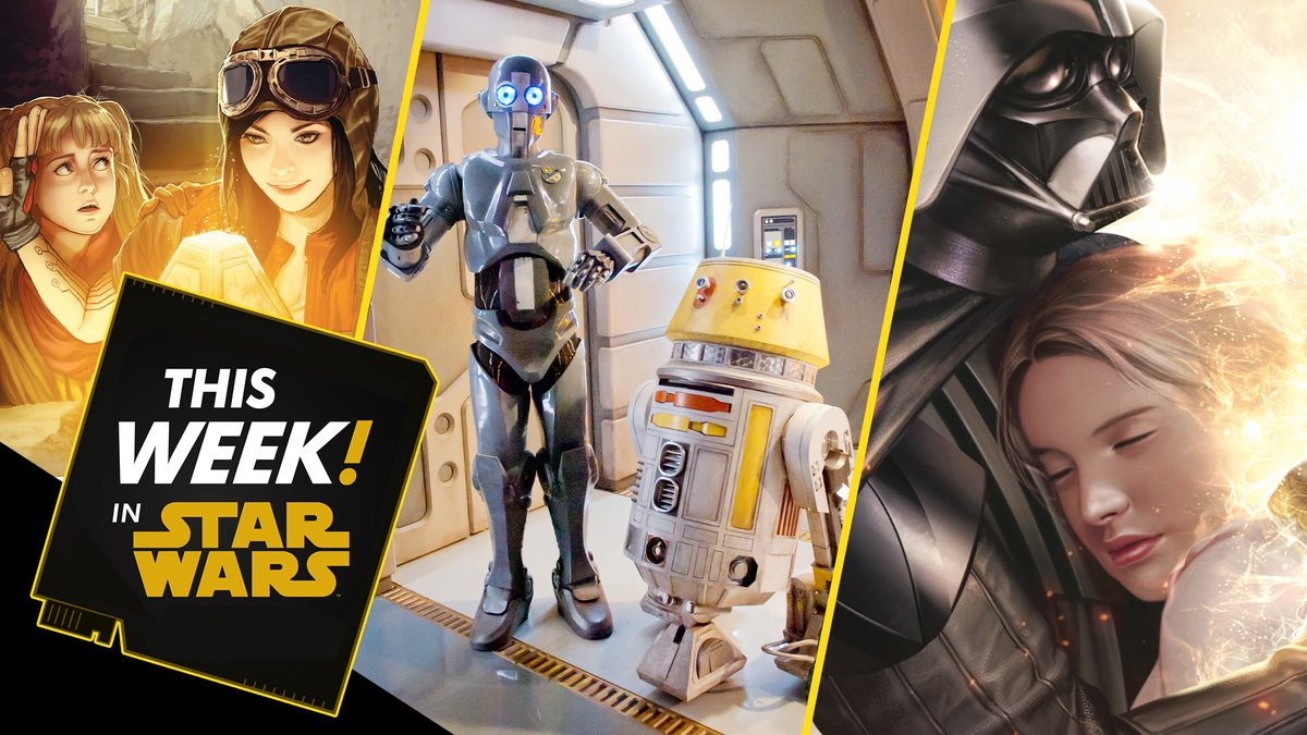 #ThisWeekInStarWars: we celebrate the finale of #JediTempleChallenge, go over exciting Star Wars comics news, and much more! Presented by @GEICO. #ad