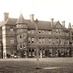 """#ThrowbackThursday 1888 💙 Back then the school was constantly battling infectious illnesses such as scarlet fever. In a note that sounds eerily familiar, school Founder and Headmaster, Henry Montagu Draper wrote: """"The risk is so great infection may be carried even by letter."""""""