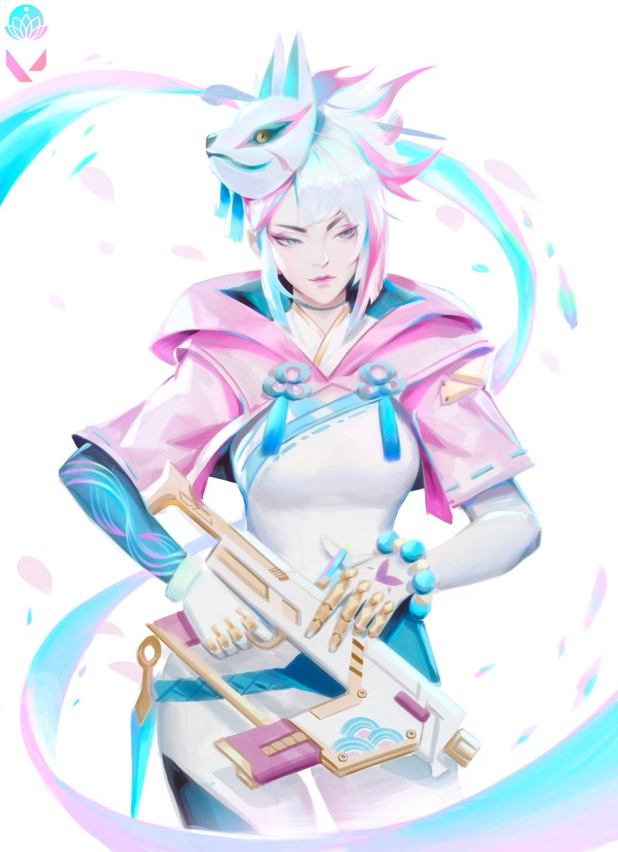 Thank you all for joining us on #DrawWithRiot and seeing @ZeronisART create this tribute art of Spirit Blossom Jett! Seeing a @PlayVALORANT agent re-imagined in the @LeagueOfLegends universe was super fun for us! 🎨