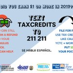 Image for the Tweet beginning: Looking for free tax prep