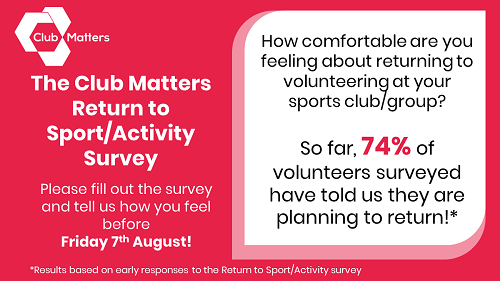 Volunteers have a vital role to play in helping to ensure the safe return for many sports & activities restrictions are eased. Understanding how you are feeling & what can be done to support you is really important. https://t.co/kY2aIKBeFp @Oxoncb @GAOxfordshire @OxfordHC
