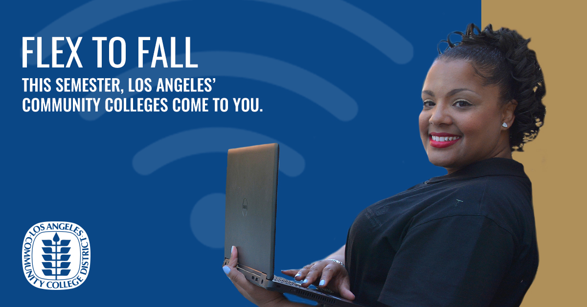 When you enroll with us, you roll with us. Financial aid and academic support services available, 100% online. Enroll at LAColleges.net for Fall 2020!