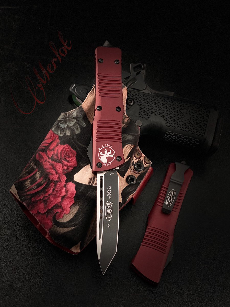 Check out this Configuration! Merlot Combat T/E's with Black Blade and Hardware #microtech #edc #everydaycarry #lifestyle #accessories #collection #collector #quality #otf #auto #knife #knives #blade #sharp #tactical #tools #gear #knifeporn #knifenut #knifelife #knifefanaticspic.twitter.com/LY5YqqroS0
