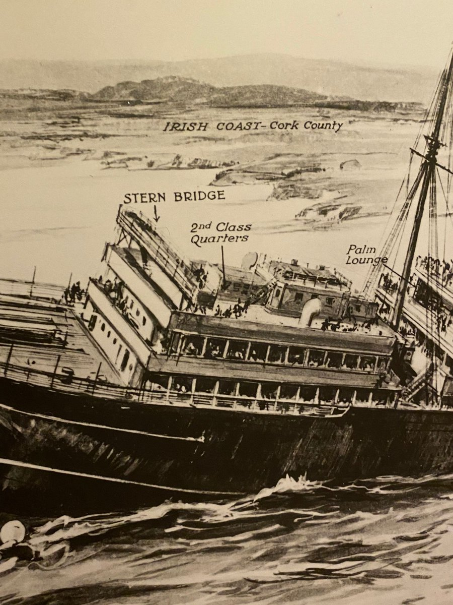 Learn all about the ocean liner that was sunk by a German torpedo at our recently upgraded Lusitania Exhibition. Cobh was at the centre of rescue efforts and launched a flotilla of rescue boats, saving 761 people.  #Lusitania #HeritageCentre #IrishHistory #PureCork https://t.co/6xSXIg4as7