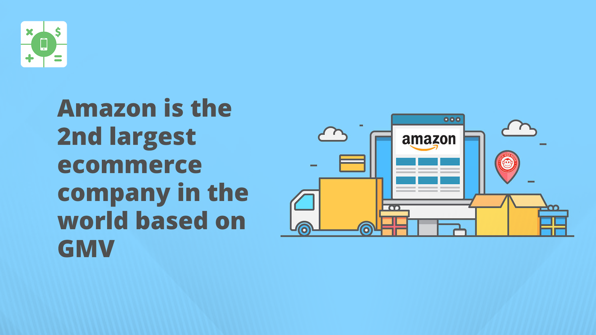 Amazon is the 2nd largest #eCommerce company in the world based on Gross Merchandise Value  #onlineshopping #befuturereadypic.twitter.com/G4j9xhuOnE