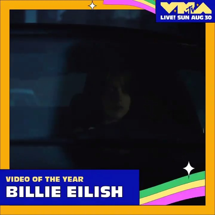 """Billie is nominated for 6 @MTV #VMAs.  Video of the Year, Song of the Year (""""everything i wanted"""") Best Direction (""""xanny"""") Video for Good, Best Cinematography, Best Visual Effects (""""all the good girls go to hell"""")  Vote: https://t.co/RBe8NLxxIL https://t.co/KJ8qwiNNzv"""