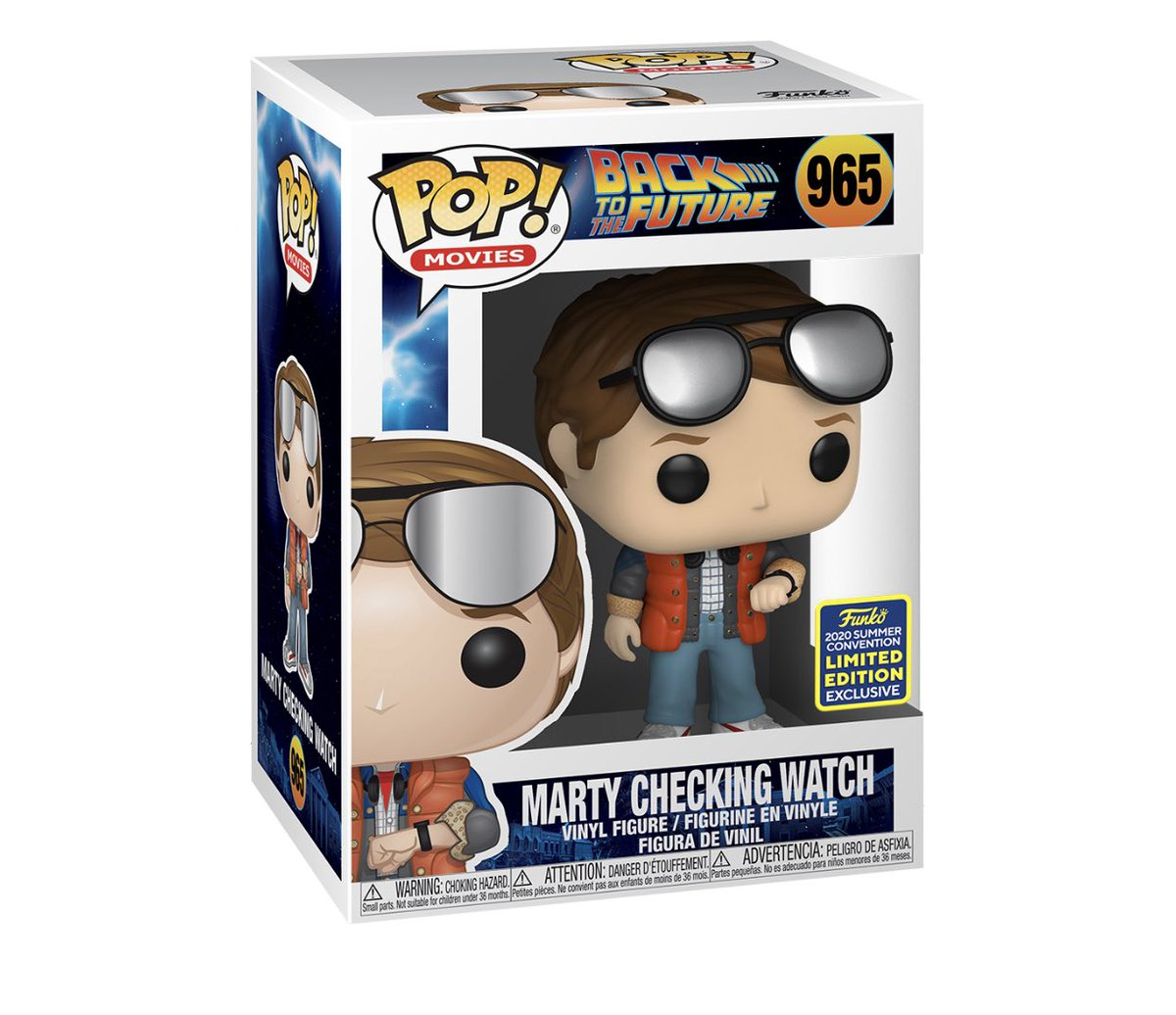 Restock: SDCC Shared exclusive Marty McFly! #SDCC #backtothefuture #Funko #ad .