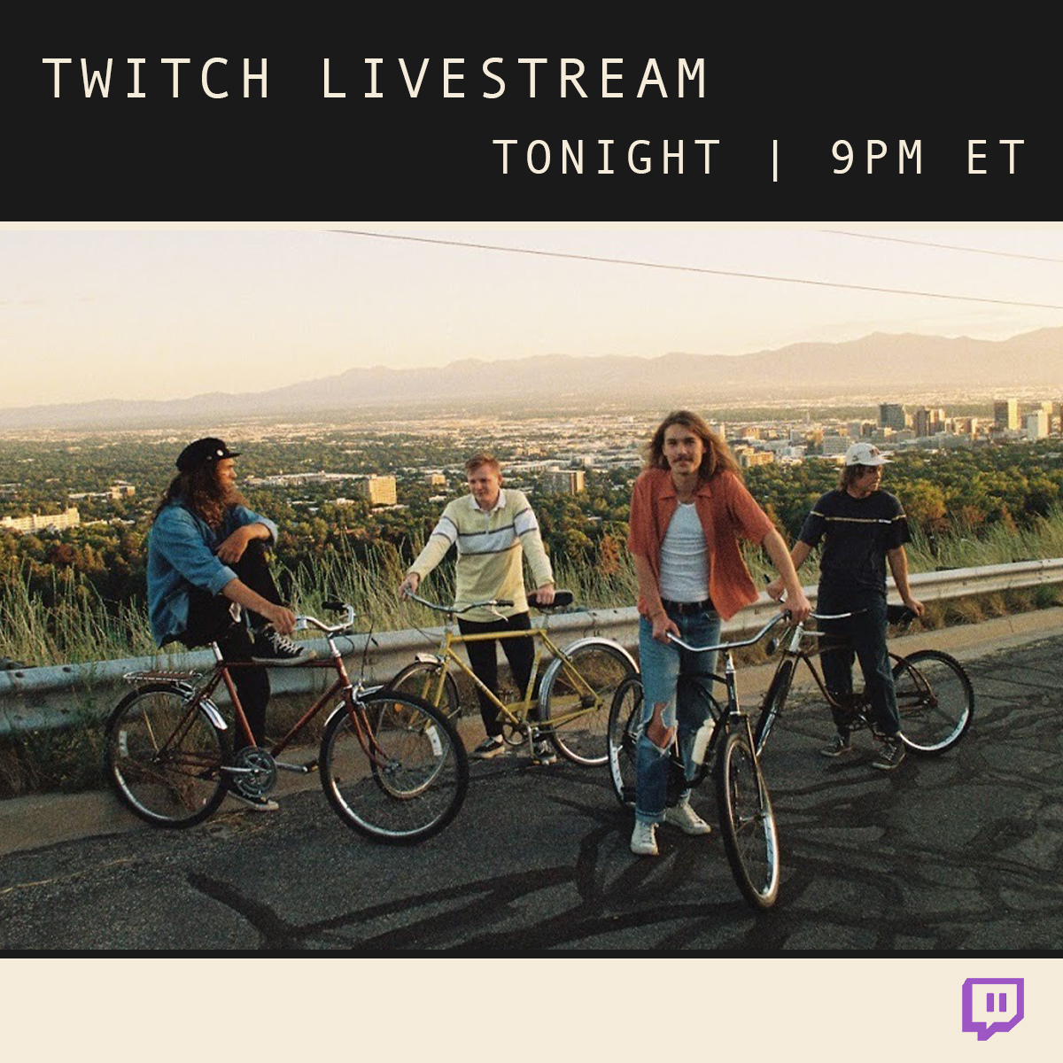 see ya tonight! 🧃 @Twitch @amazonmusic twitch.tv/thebackseatlov…