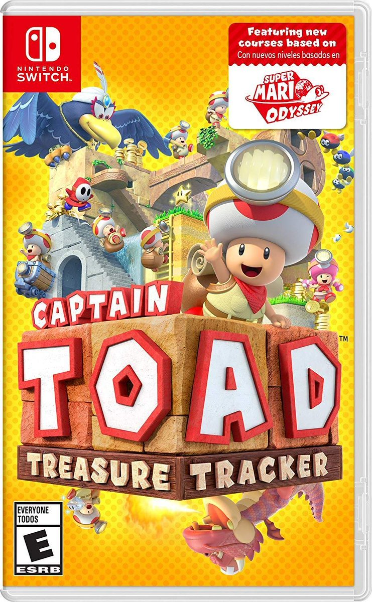 Captain Toad: Treasure Tracker for #NintendoSwitch is on sale for $32.84 on Amazon. 2