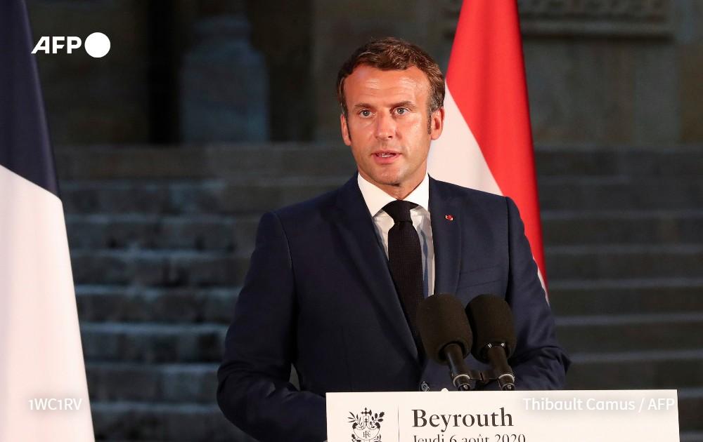 """[À LA UNE À 21H] Le président français, Emmanuel Macron, a annoncé aujourd'hui une conférence d'aide internationale pour le Liban """"dans les tout prochains jours"""", après l'explosion meurtrière et destructrice qui a dévasté des quartiers entiers de Beyrouth (1/5) #AFP https://t.co/AV9VK10XDQ"""