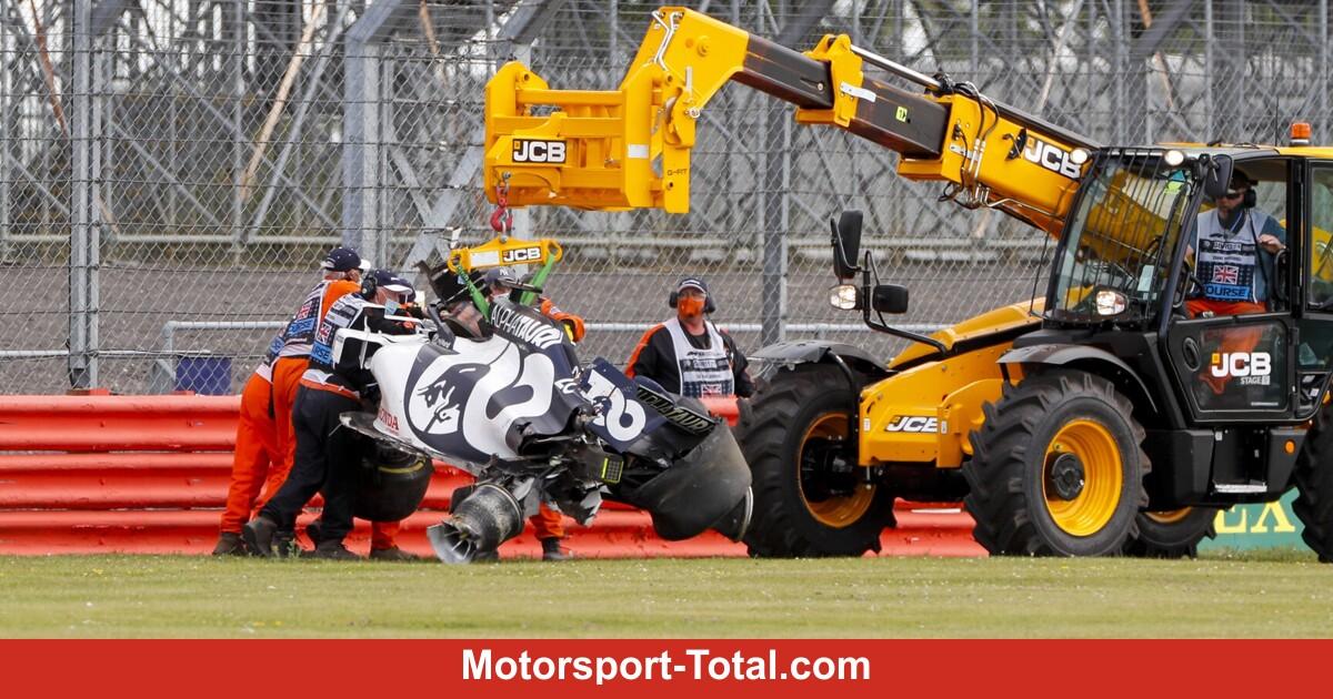 .@pirellisport erklärt: Deshalb kam es zum Highspeed-Crash von @Dany_Kvyat #F1 #BritishGP https://t.co/6B6OuADmZ6 https://t.co/4q4FLveNN4