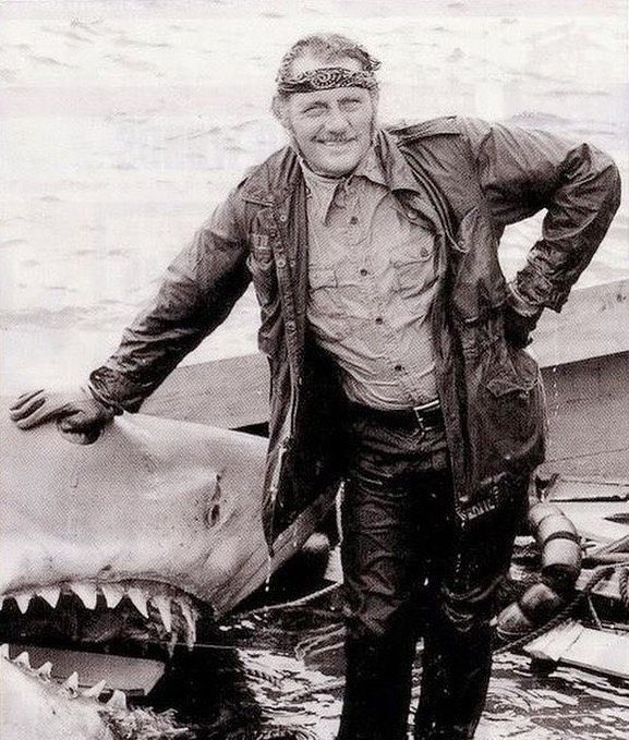 Robert Shaw, Jaws #jaws #movies pic.twitter.com/Xuf7rLE8vL