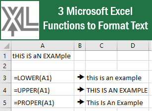 3 #Microsoft #Excel Functions to Format text! #msexcel #tips #tricks #xceleration #ExcelTips #ExcelTrick https://t.co/V3VUkTxdxa