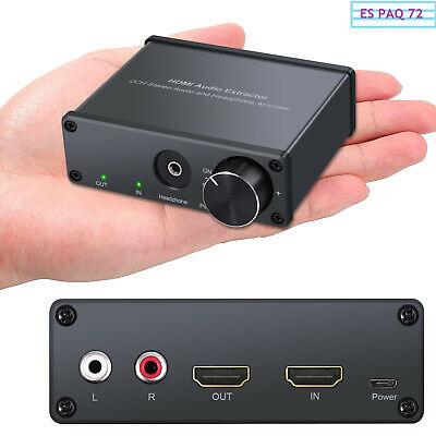 Me he agenciado un aparatejo llamado HDMI audio extractor. Lo comento, para los que sólo tienen un monitor para conectar una consola, y este no tiene salida de audio. Es barato y hace el apaño. #gamingparatodos #PlayStation5 #XboxSeriesX #NintendoSwitch #WiiU #Nintendopic.twitter.com/znfOXKeZkm