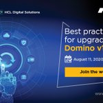 Image for the Tweet beginning: #Domino v11 helps your organization