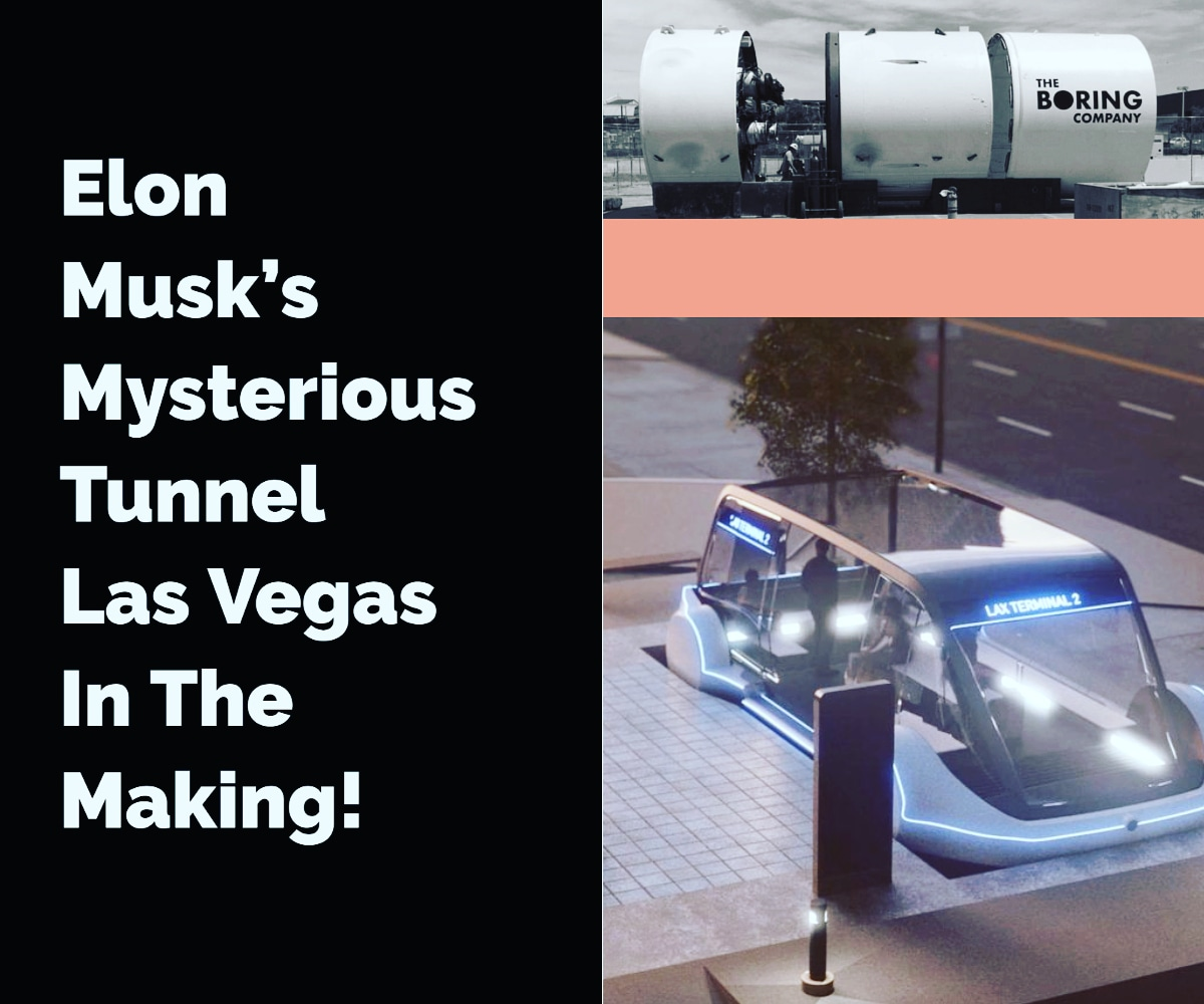 The Boring Company is building in a desert between Los Angeles and Las Vegas. This construction at Las Vegas Convention Center Loop is expected to be completed by January 2021.  #TheBoringCompany #lasvegas #losangeles #travel #2021 #commuting #elonmusk #superfast #technologyrockspic.twitter.com/xLlKTIX9un