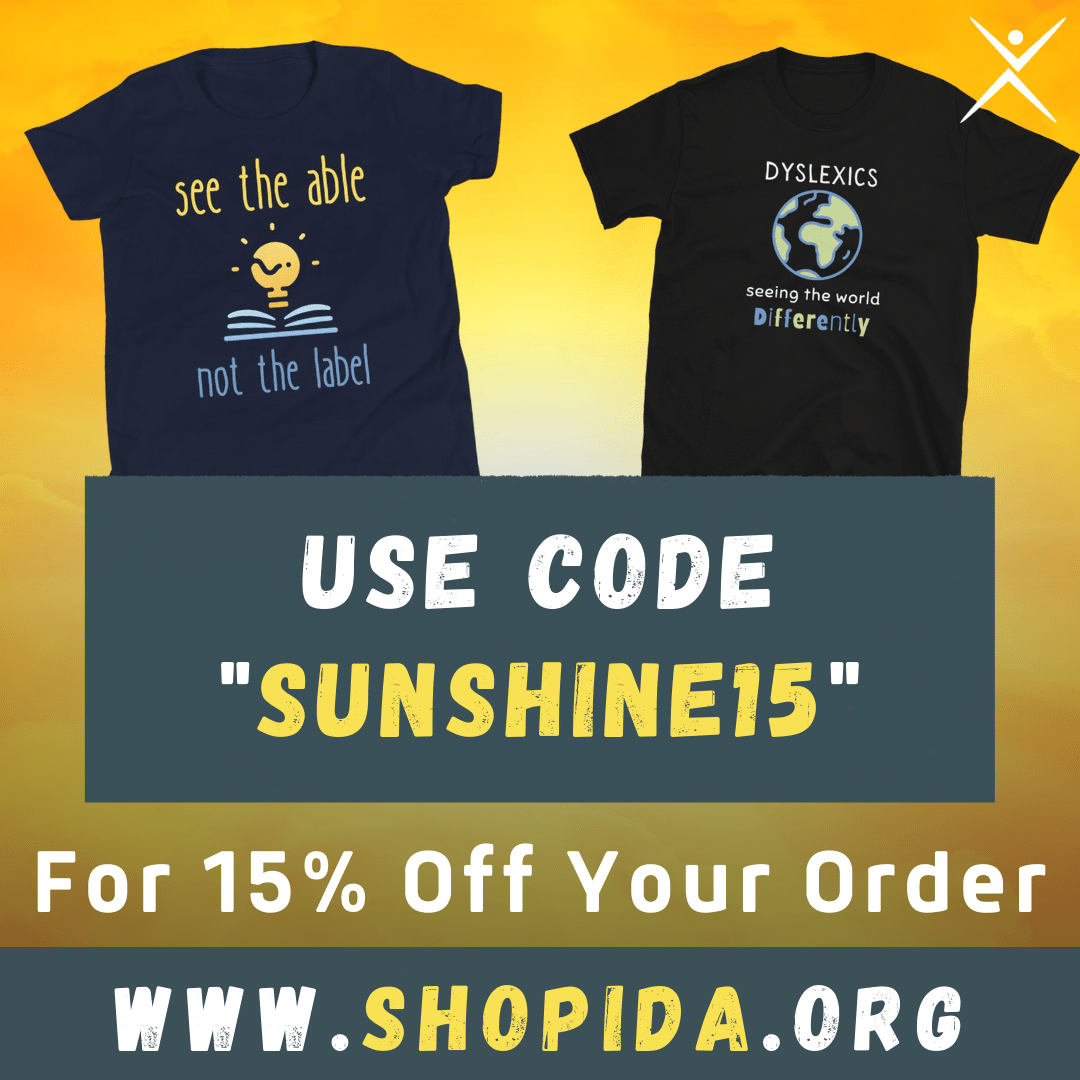 Save 15% on our most popular items when you use code 'SUNSHINE15' at ShopIDA.org ☀️