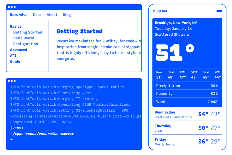 Getting the Most Out of Variable #Fonts on Google Fonts https://t.co/ccO94pP28Y https://t.co/hK5mq8jloJ