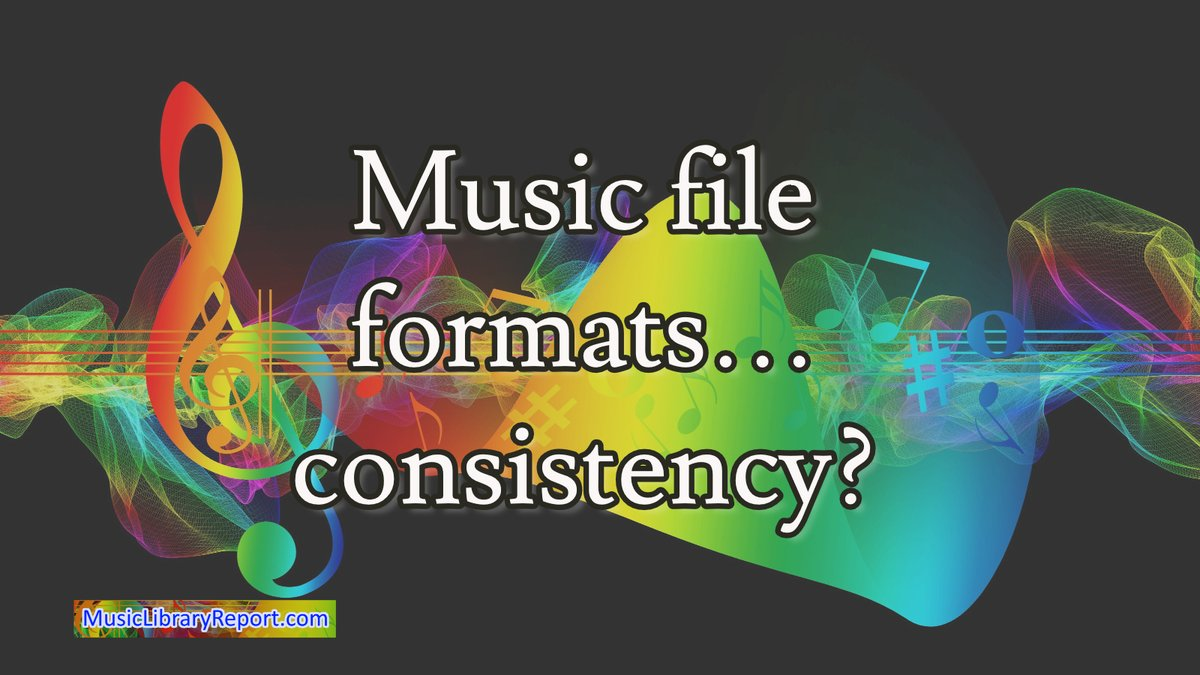 Music file formats - consistency? https://bit.ly/2CiA9Ps #musiclicensing #musicproduction #songwritingtips #indieartistsmusic #diymusician #musiccomposers #composers #songwritingsession #musiccomposer #musicproducerlifepic.twitter.com/0XQtjbyjJ5