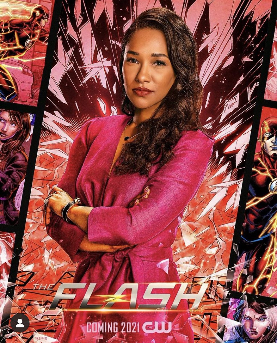 The OG on DC tv. Who opened doors for black women in comic book tv shows. @candicepatton you are breathtaking and deserving. 👏🏾💛 https://t.co/HFPFYE3Xnq