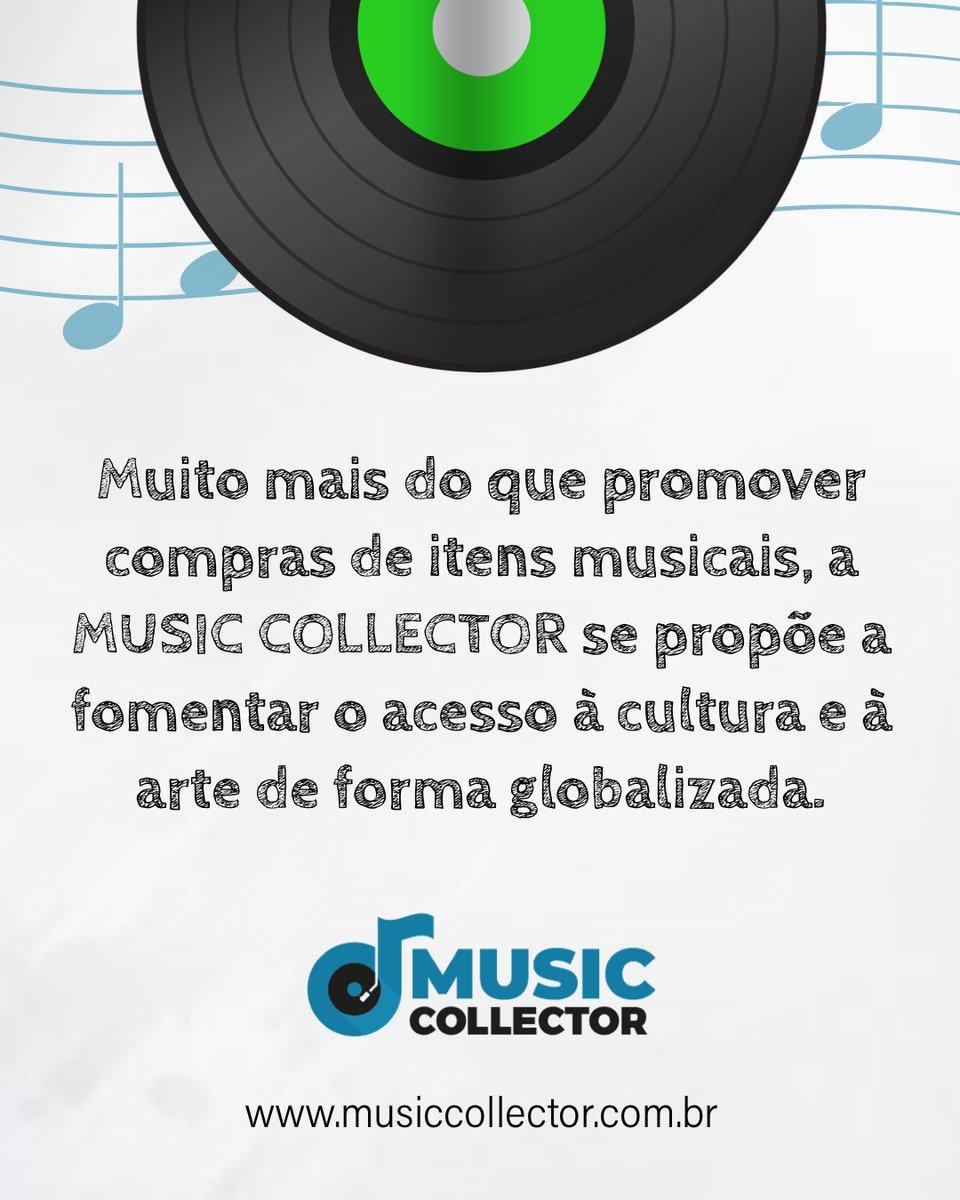 A consciência sócio-cultural também é o nosso papel por aqui. Música é cultura, é transmissão de valores contradição de personalidade.  Por isso dizemos, música é uma experiência completa! #music #musiccollector #vinil #vinillovers pic.twitter.com/fdhBY76imM