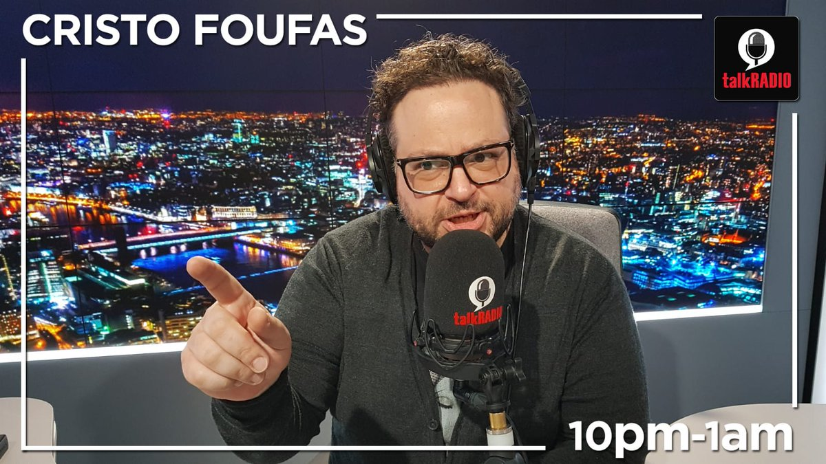 Cristo Foufas | 10pm-1am ► Caroline Flack: Was it a show trial? ► Planning rules: Have we become a nation of Nimbys? ► Best and Worst movie musicals Watch live ► youtu.be/VekrkbuLqK8 @cristo_radio