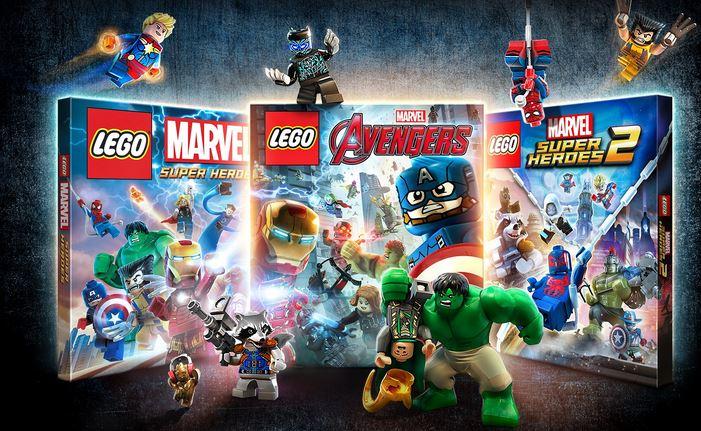 LEGO Marvel Collection (PS4) $14.99 via PSN. 2