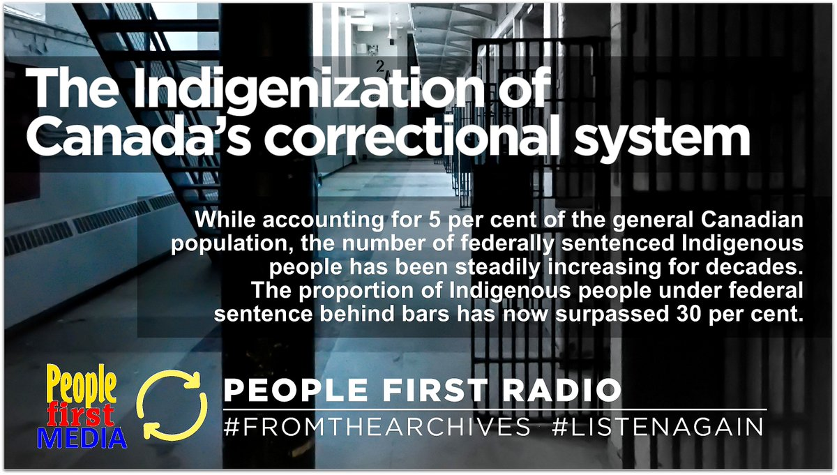 listen | https://www.vancouverislandmentalhealthsociety.org/wp-content/uploads/2020/03/857_indigenization-of-canadian-correctional-system_march-11-2020_40.mp3… | #peoplefirstradio #fromthearchives #listenagain pic.twitter.com/aAiboNwfJx