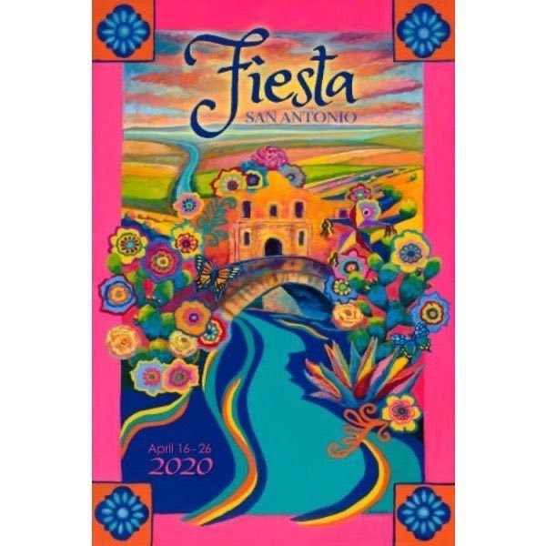 Collectors item alert! Grab the 2020 Fiesta Poster before it is ALL GONE! A signed copy of the Official poster, in honor of the Fiesta that didnt happen, is $78.00. The unsigned is $19.99.  shop.fiesta-sa.org/home-lifestyle…
