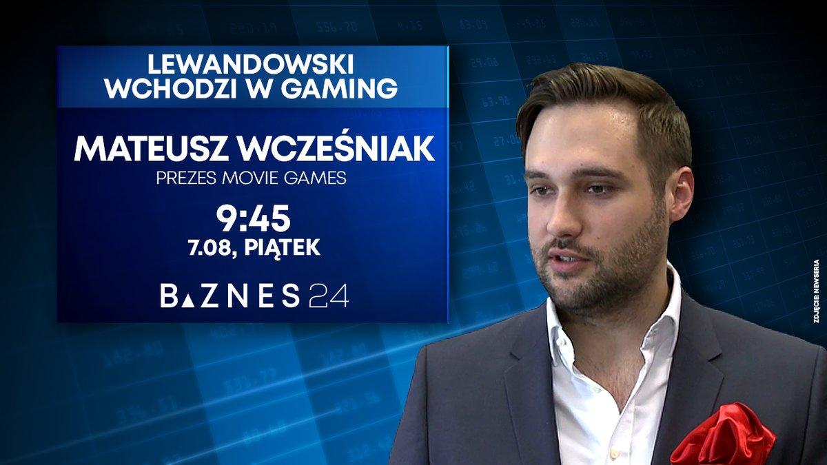 NYT: Polish Football Star Lewandowski Invests in Video Game Company (http://tiny.cc/dpmmsz).   A sprawca tego newsa -  #MateuszWcześniak, CEO #MovieGames , będzie gościem BIZNES24 w piątek o 9:45. Oglądaj w #Canal+ #UPC, #Orange, #Toya. #gamingindustry , #Lewandowskipic.twitter.com/v8FO5hrY3q