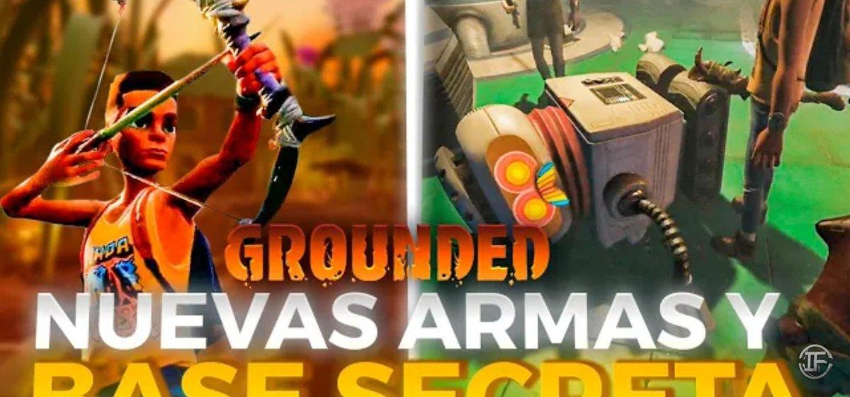 """🔴🆕🔴Nuevo Vídeo en el Canal Secundario de @XxIVANFOREVERxX y esta vez con """"Nuevas Armas y Base Secreta - Grounded 2°""""🔴🆕🔴.  Apoyad el Contenido y Suscribiros al Canal gente!!!👍🏼👍🏼👍🏼.  ➡️🎉➡️https://t.co/dtKv1mWQdt⬅️🎉⬅️ https://t.co/tFgQjQ13LK"""