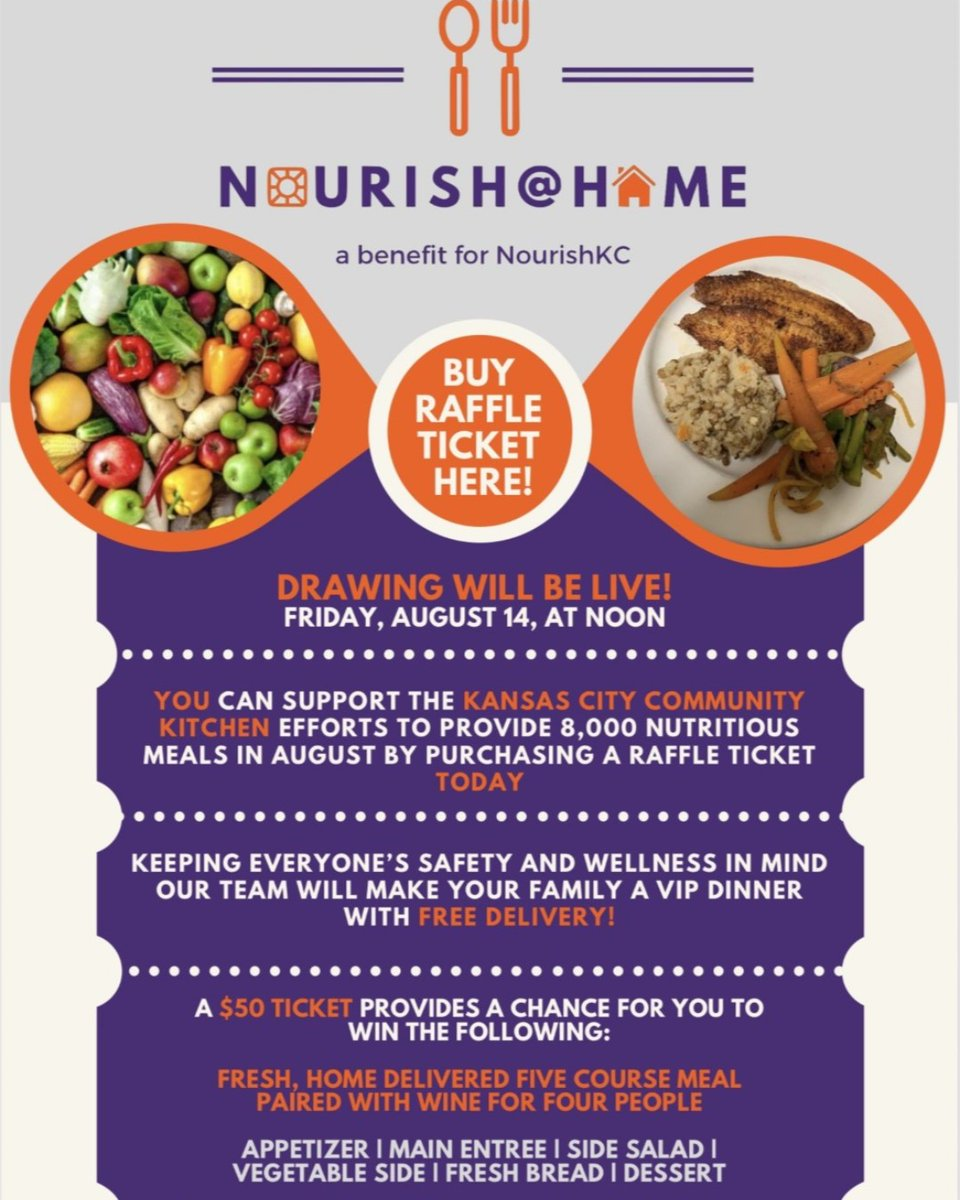 What's for dinner on August 17? razmobile.com/NourishKC/raff… #WinnerWinnerVIPDinner #CommunityLove