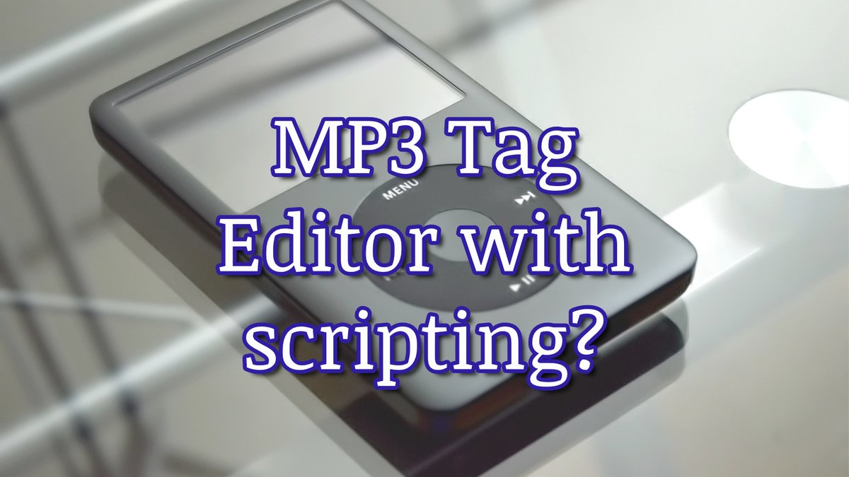 Mp3 Tag Editor with scripting https://bit.ly/2p1JPpa #indiemusician #songwritingtips #indieartists #musicproducers #musiclicensing #musiccomposers #musiccomposer #composer #musicproducers  #diymusicianpic.twitter.com/ujyPs4sXUq