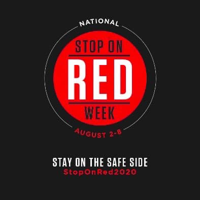 Stop on Red! According to the National Highway Traffic Safety Administration (NHTSA), in 2018, 846 people were killed and an estimated 139,000 were injured in crashes that involved red-light running. bit.ly/2Fo2x5e