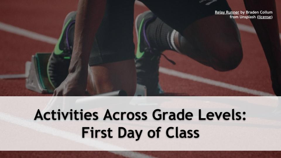 Less than a half hour away from Activities Across Grade Levels: First Day of School! with @TechCoachSusan https://t.co/Fl3vMFZi0y #5DTC #LeadLAP #TLAP #CatholicEdChat #CAEdChat #Zoomedu #ISTEchat #FETCchat #MERIT20 #distancelearning #distancelearning2020 #onlinelearning https://t.co/d7JDVtrS73