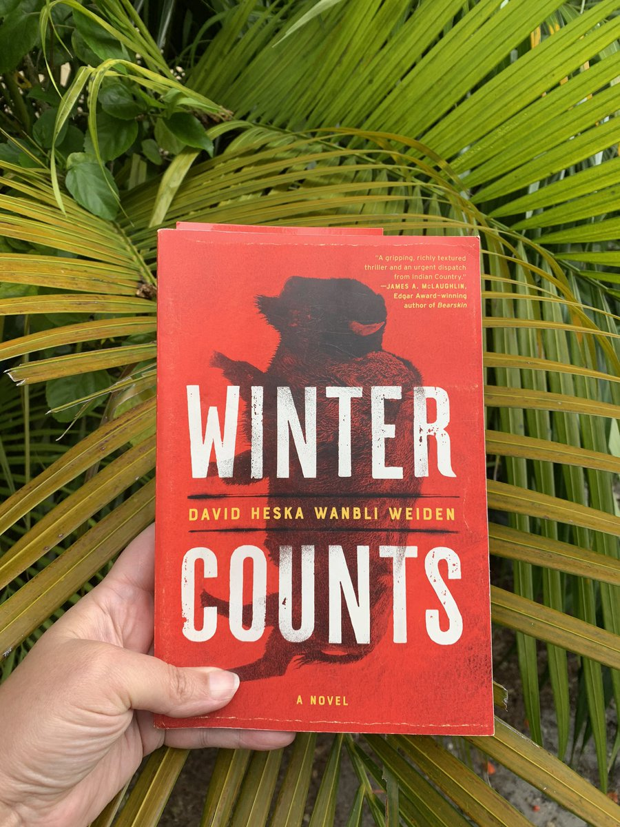 ARC of @WanbliWeiden's thriller in my mailbox! Ty David. Winter has come to Miami.