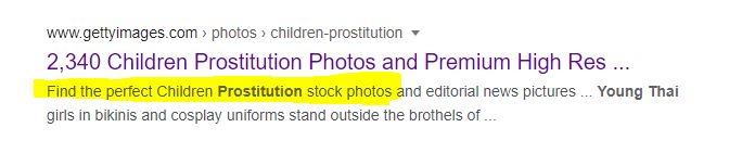 Nothing to see here except 'Find the perfect Children Prostitution stock photos and editorial news pictures ... Young Thai girls in bikinis and cosplay uniforms stand outside the brothels of ...' @GettyImagespic.twitter.com/fKuPcOZ6Zh