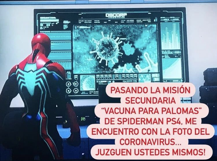 #COVID__19 #COVID19ec #OMS #GatesFoundation #coronavirusFacts #SpiderManPS4 #SpiderManDay #PS4 https://t.co/zBJXJ0OWhB