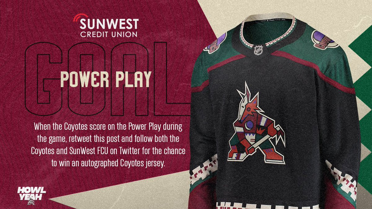 Keller scored on the power play Sunday, and you could score this Kachina jersey today.  RT & follow us + @SunWestFCU to win. https://t.co/f0J3YON4R7