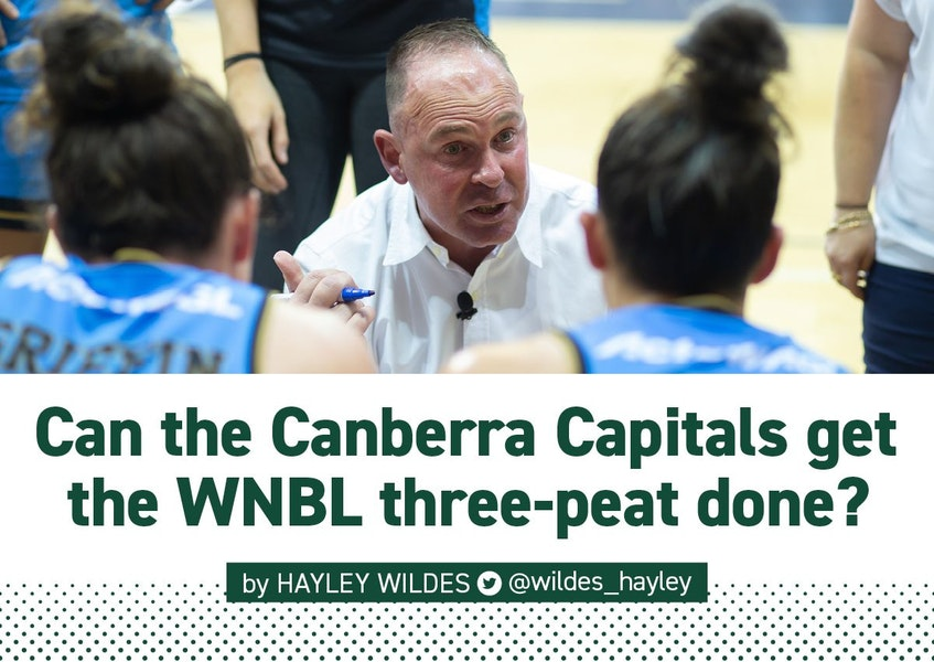 WNBL | Plotting a championship three-peat in the midst of a pandemic presents a whole new set of challenges - just ask @UCCapitals coach, Paul Gorris.  Read Hayley's interview: https://t.co/9e6vjDpz0k   #AussieHoops #WNBL21 https://t.co/eQJ38ZsOZz