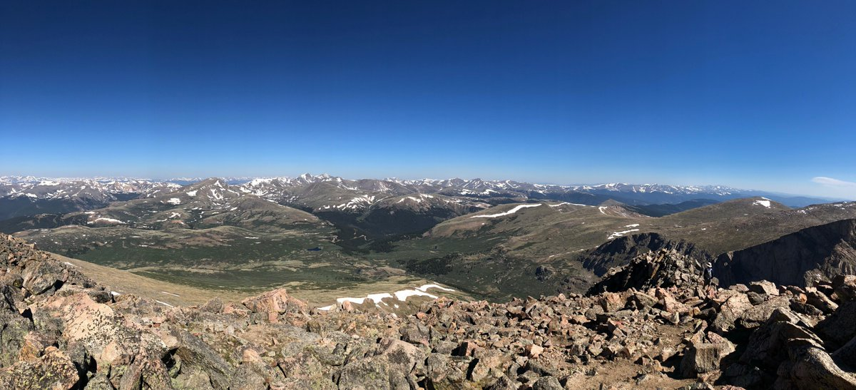 There's Trail Running...and then there's 14er Running 🤯 bit.ly/31qx0XX