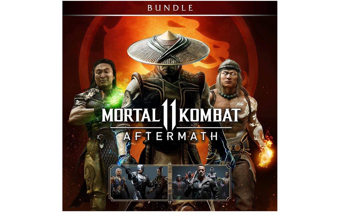 Mortal Kombat 11: Aftermath + Kombat Pack Bundle (PS4) Code $29.99 via Amazon. 2