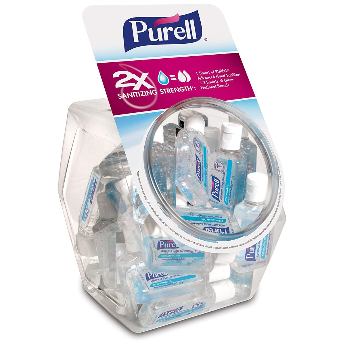 PURELL Advanced Hand Sanitizer Refreshing Gel  Only $35.60!