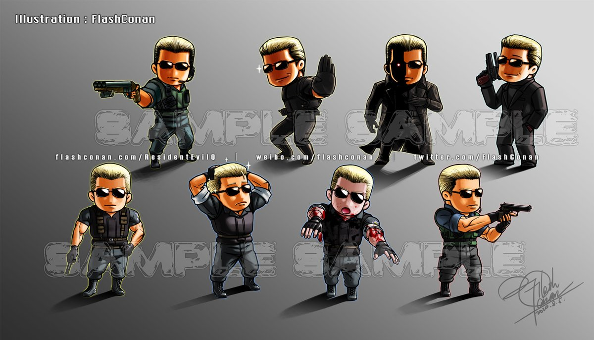 #ResidentEvilQ The collection of #AlbertWesker.#ResidentEvil #Biohazard http://flashconan.com/ResidentEvilQ pic.twitter.com/wLzFoMsdi9