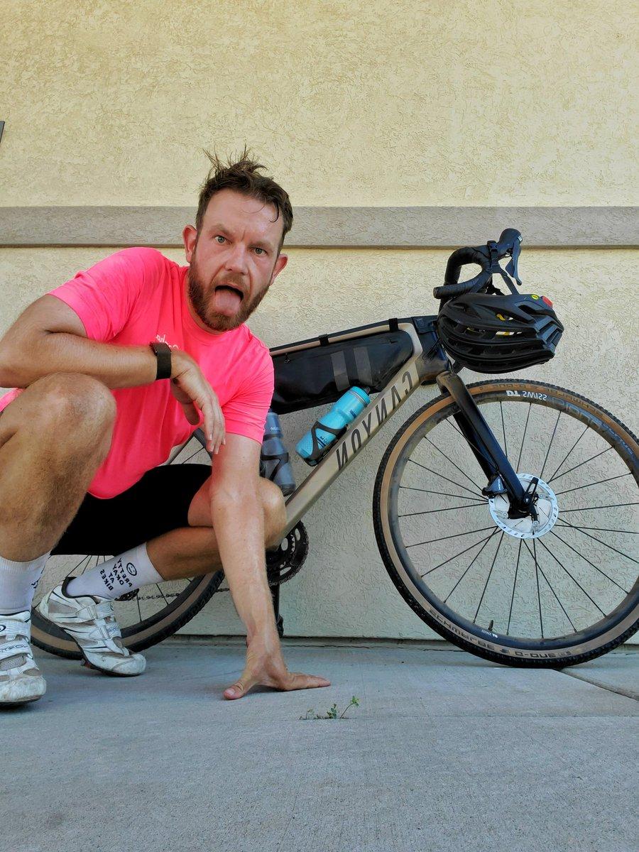 100 miles in six hours. 4000 calories burned Epic North Dakota gravel adventure.